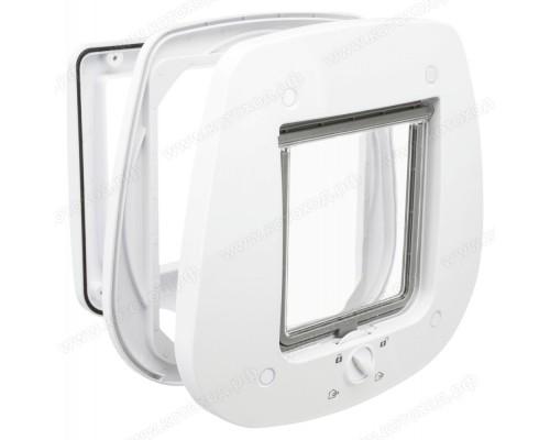 Дверца для кошки для стеклянных дверей и стен Trixie 44221, 44222